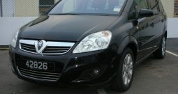 2009 Vauxhall Zafira 1.6 Breeze Plus 5dr Estate Manual Ref: U00951/42826