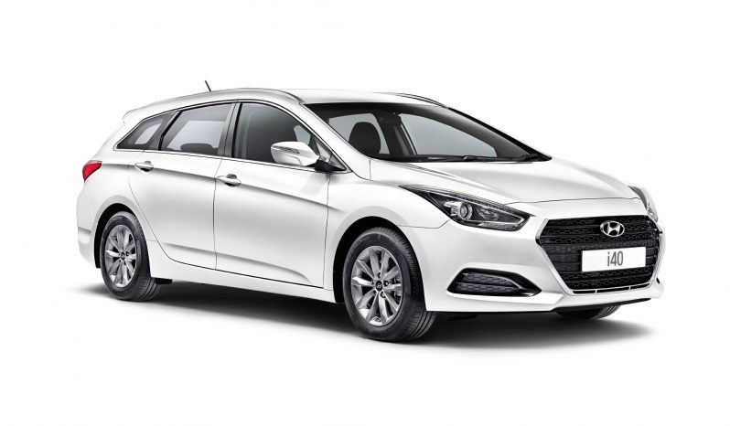 Hyundai i40 range from £19395 full