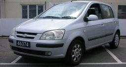 2003 Hyundai Getz 1.6 CDX 5dr hatchback Manual Ref: U01033/46374