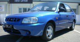 2001 Hyundai Accent 1.5 CDX 5dr hatchback Manual Ref: U01038/64647