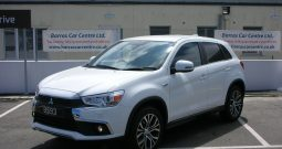2017 Mitsubishi ASX 3 1.6 5dr Estate Manual Ref: U01039/8593