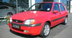 2001 Ford Fiesta 1.2 Freestyle 5dr hatchback Manual Ref: U01081/50385