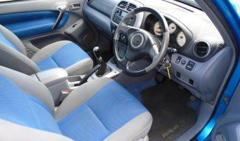 02 Toyota Rav 4 2.0 NRG VVTi 3dr Estate Manual Ref: U01168/56120 full