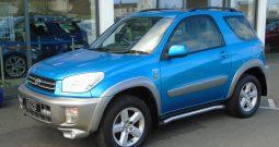 02 Toyota Rav 4 2.0 NRG VVTi 3dr Estate Manual Ref: U01168/56120