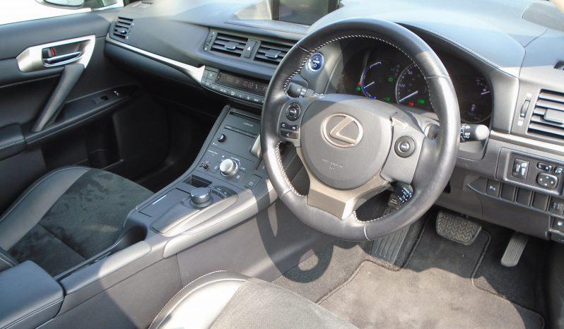 15 Lexus CT200H Advance Plus (Hybrid Electric) 5dr Hatchback Automatic Ref: U01183/62913 full