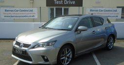 15 Lexus CT200H Advance Plus (Hybrid Electric) 5dr Hatchback Automatic Ref: U01183/62913