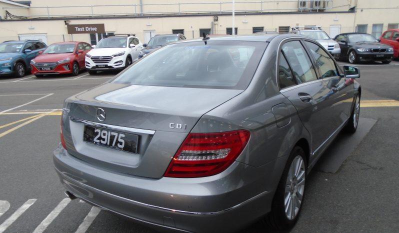 13 Mercedes C220 1.8 CDi Blue Efficiency 4dr Saloon Manual Ref: U01263/29175 full