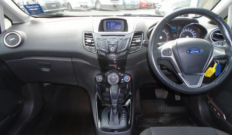 17 Ford Fiesta 1.0 Zetec 5dr Hatchback Automatic Ref: U01278/41353 full