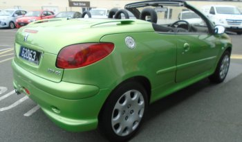 04 Peugeot 206 2dr Cabriolet Manual Ref: U2019129/62053 full