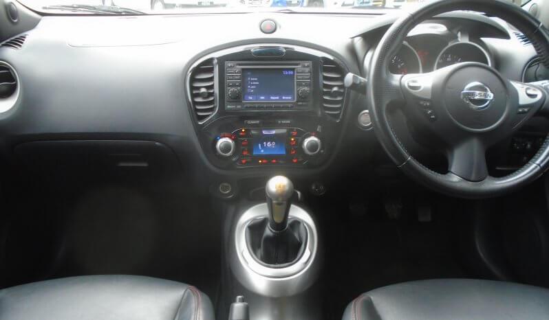 11 Nissan Juke 1.6 Tekna 5dr Hatchback Manual Ref: U2019387/62847 full