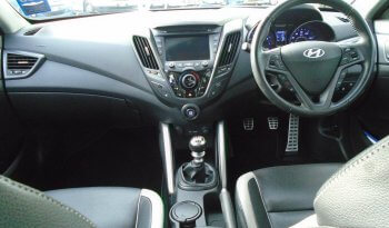13 Hyundai Veloster 1.6 Turbo SE 3dr Hatchback Manual Ref: U2019405/62476 full